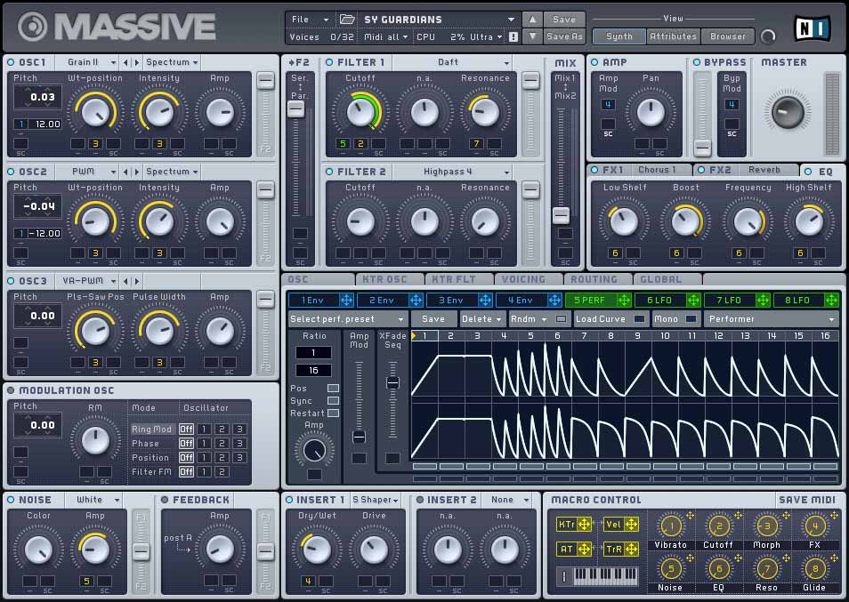 NI Native Instruments Massive
