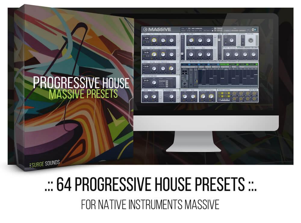 Hardwell, Nicky Romero, KSHMR Progressive House NI Massive presets