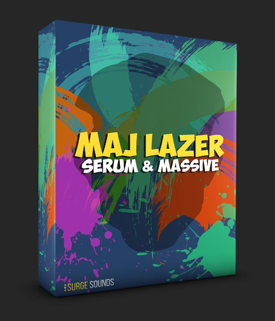 Major Lazer Moombahton & Trap Serum & Massive Presets
