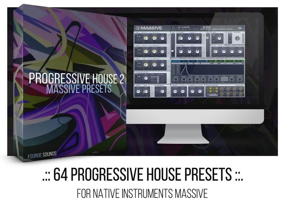 Alesso, Dubvision, Matisse & Sadko Progressive House NI Massive presets