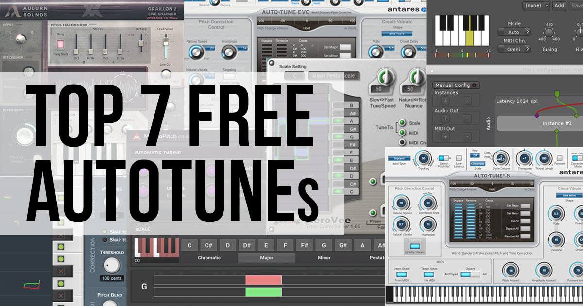 Autotune Free: 7 of the Best In 2019! - Vst Plugins for the Modern Producer